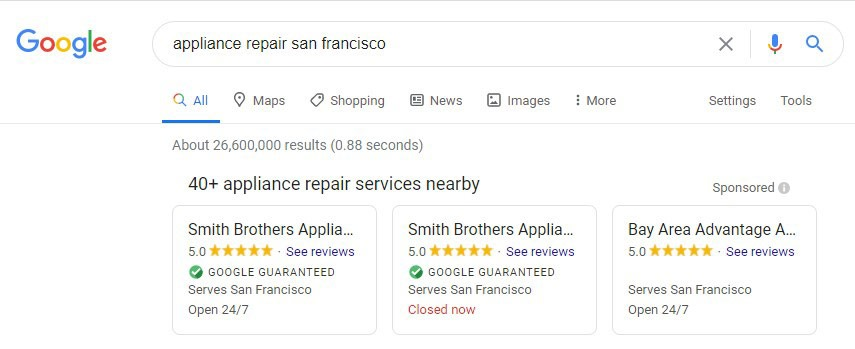 Google Guaranteed Digital Marketing Local Services Ads Rithm Blog